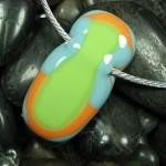 Neon Penguin Necklace - Anne Thornton