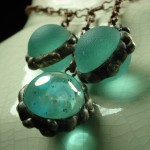 Blue Balls Necklace - Anne Thornton