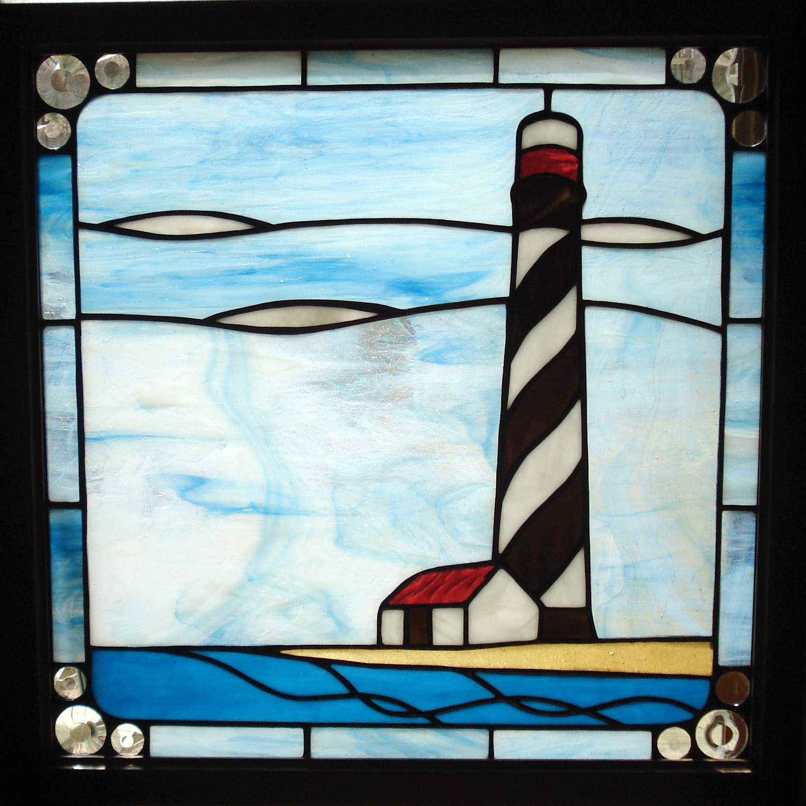 Lighthouse Stained Glass - Home & Garden - Compare Prices, Reviews