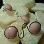 Double Bubble Drop Earrings by Anne Thornton