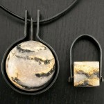 7. Anne Thornton - pate de verre jewellery