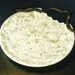 9. Anne Thornton - white bowl with handle