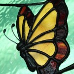 Anne Thornton - butterfly panel detail2
