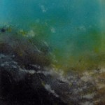 Anne Thornton - wild sea glass detail